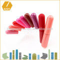 Le casque coloré à l'épreuve des étiquettes personnalisées en gros fait votre propre lèvre