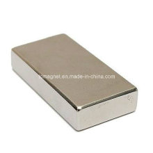 Super fuerte bloque de bloqueo Cuboid imán Rare Earth N35 grado neodimio 50X25X10mm