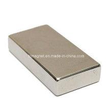 Ímã de Cuboid da tira de bloco forte super Imã Neodymium da classe da terra rara N35 50X25X10mm