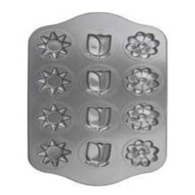 Non-Stick Backen 12 Tasse Flower Shape Muffin Pan DIY Cup Cake-Schimmel