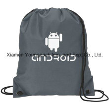 Vente en gros Bulk Custom Promotionnel Nylon Drawstring Backpacks