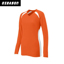 Ozeason Crew Neck 3D Sublimated Long Sleeves Volleyball Jersey for Team
