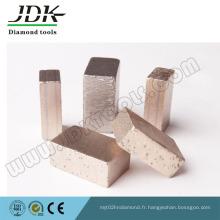 Segment de diamant de Ds-16 pour la coupe de marbre