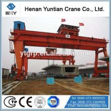 Marca de fábrica famosa de China Henan Yuntin MG / A Grúa de pórtico doble del gancho de la viga del modelo