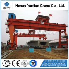 China Famous Brand Henan Yuntin MG/A Model Double Girder Hook Gantry Crane