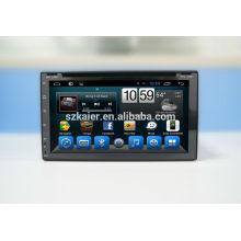 GPS, DVD, radio, bluetooth, 3g / 4g, wifi, SWC, OBD, IPOD, miroir-lien, TV pour universel