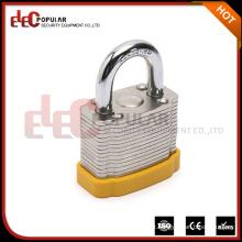 Elecpopular Hot Sale China Produtos ISO Safety Short Shackle Laminated Padlock
