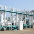 Mini usine de riz cru automatique 2 tonnes par heure