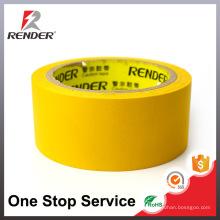 Fita adesiva de fita adesiva amarela de amostra livre fácil para embalagem