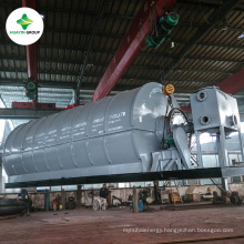 City Waste House Garbage Processing Pyrolysis Recycling Machine To Oil