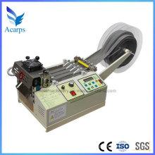 Máquina de corte de correia tecida de nylon do PP com a faca fria quente