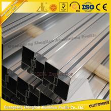 Extrusion en aluminium anodisée / enduite de poudre pour la porte coulissante en aluminium