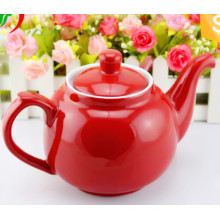 Big Capacity Colorful design SGS Certificate Ceramic Tea Pot