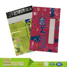 Eco-friendly huecograbado impresión personalizada sobres de plástico bolsas de correo de plástico