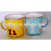 enamel coating mugs and cups & printed enamel mugs wholesale