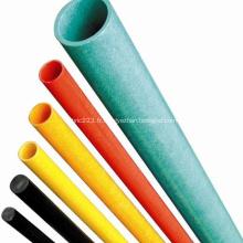 Tube rond en fibre de verre Pultruded durable de haute résistance