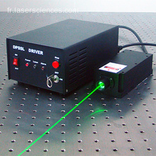 Laser vert mode longitudinal unique 532nm pour l'application Raman