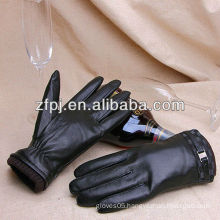Men comfort hot sale style leather gloves in lahore