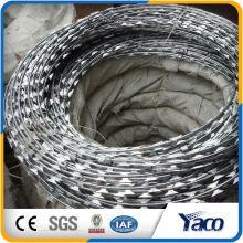 Preço barato da venda baixo China Rolo Concertina Razor Farpado Wire Fence