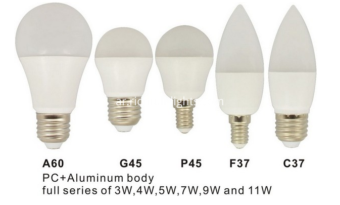 LED Bulbs Global shape