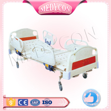 4 piece abs rails double crank manual bed
