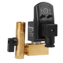 Solenoid Valve -- Timing of Drainage Solenoid Valve