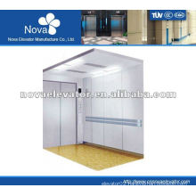 Hairline stainless steel elevator for hospital, stable & reliable