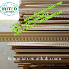 wood cornice moulding / wooden moldings