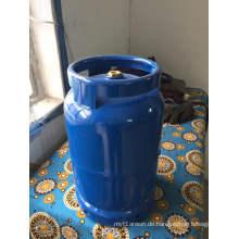 5kg-LPG Gasflasche & Stahl Gas Tank- Low Shield