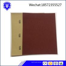 última fabricación de papel de lija / hoja de lijado en China