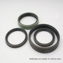 Selo hidráulico de PTFE que Glyring com anel de NBR70 O