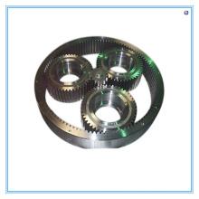 Peças usinadas CNC para redutor de engrenagem e engrenagem