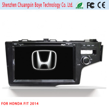 GPS Navigation Car DVD Player for Honda Fit 2014
