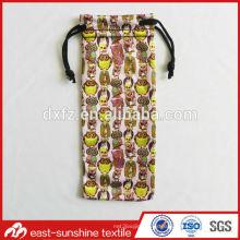 Personalizado a todo color imagen impresa Bolsa bolsa de gafas