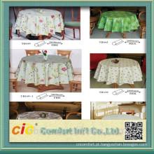 Wholesalers Hot Sell PVC Foam Table Cloth