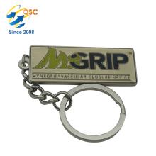 Machen Sie Ihre eigenen Logo Metall 3D Schlüsselanhänger Teile Jubiläum Metall nach Maß personalisierte Schlüsselanhänger