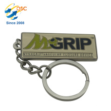 Make Your Own Logo Metal 3D Key Chain Parts Anniversary Metal Custom Made Personalized Keychains