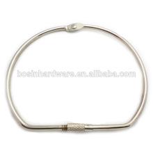 Art- und Weisequalitäts-Metallgroßer Mappen-Ring