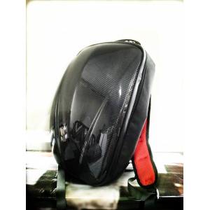 Carbon fiber stiff backpack