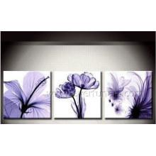 Pintura a óleo 100% Handmade da flor