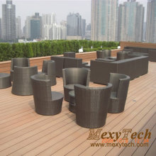 Wood Furniture/WPC Plastic Outdoor Decking/Terrace Flooring