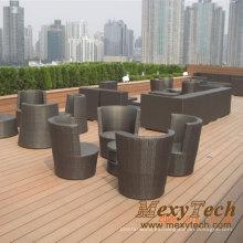 Banco madera compuesto plástico madera de Foshan (SB03)