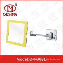 Wall Mounted Bathroom Square Shape LED Cosmetic Mirror