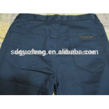 Tissu de foret de spandex 20 * 16 + 70D 116 * 48 fabricant de tissu de sergé