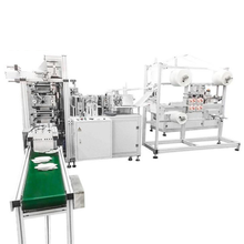 Automatic 3ply N95/kn95 disposable surgical mask machine