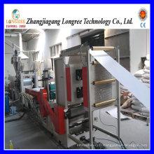 Ligne d'extrusion de feuille de PVC, chaîne de production de feuille de baguette de bord de PVC pour le baguage de bord de 0.4-0.8mm
