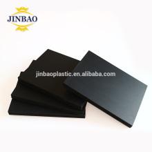 La mousse noire de JINBAO 3mm épais bloque la plaque pvc de forex de conseil de PVC