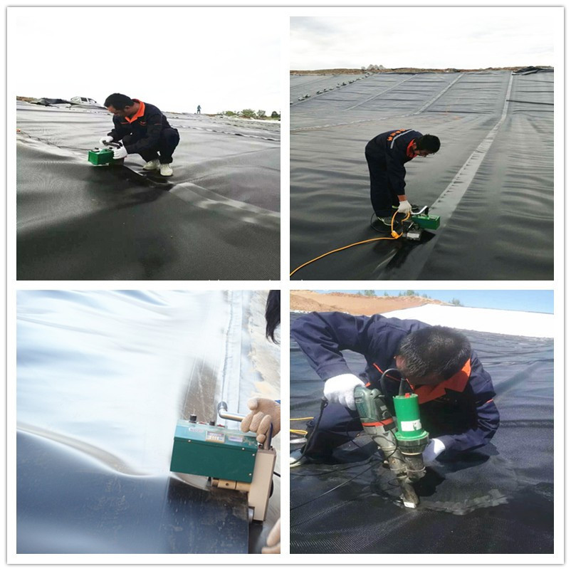 HDPE liners for wastewater treatment