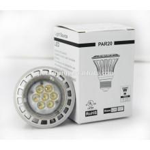 TUV UL approved for European and north American 8w Par20 led bulb light led spot light