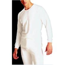 Men's 65%polyester 35%cotton underwear fleece inside